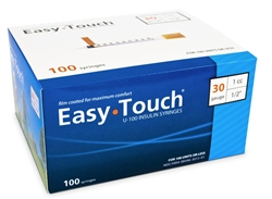 EasyTouch Diabetes 30 Gauge Syringe
