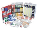 3 Shelf Deluxe First Aid Cabinet