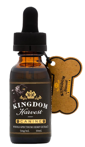 Kingdom Harvest 150 mg Canine CBD Oil