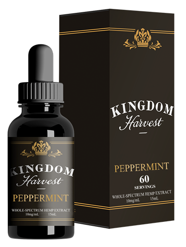 Kingdom Harvest CBD 150 mg Peppermint Oil 15mL