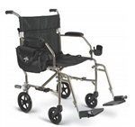Ultralight 2 Transport Chair-Silver; MUST CALL TO ORDER