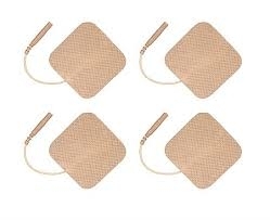 MedQuip Square Pre Gelled Electrodes for TENS Unit