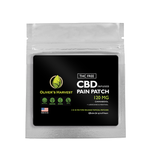 Oliver's Harvest CBD Pain Relief Patch