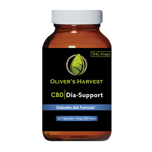 Oliver's Harvest CBD 300 mg Diabetes Supplement