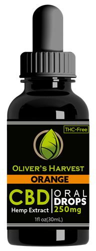 Oliver's Harvest CBD 250 mg Orange Tincture