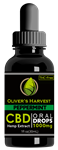Oliver's Harvest CBD 1000 mg Peppermint Tincture