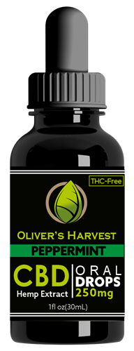 Oliver's Harvest CBD 250 mg Peppermint Tincture