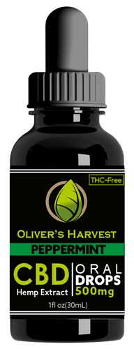 Oliver's Harvest CBD 500 mg Peppermint Tincture