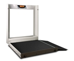 Accuro-WCS-100 Wheel Chair Scale-1000 lb / 454 kg Capacity
