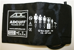 "Professional Small Adult Cuff (fits arms 7.4""- 10.6"", 19cm~27cm)"