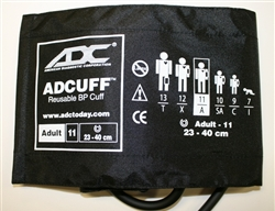 "Professional Adult Cuff  (fits arms 9""- 15.7"", 23cm~40cm)"