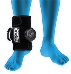 ICE20 Ice Therapy Dual Compression Wrap for Ankle