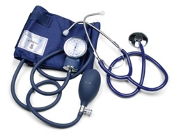 Southeastern Medical Supply, Inc - Lumiscope Aneroid Sphygmomanometer with Separate Stethoscope