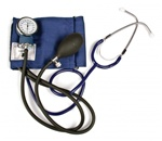 Southeastern Medical Supply, Inc - Lumiscope Aneroid Sphygmomanometer with Attached Stethoscope