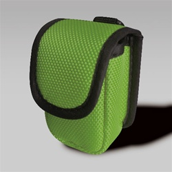 Southeastern Medical Supply, Inc - Green Soft Velcro Carry Case with Belt-Loop designed for a variety of Fingertip Pulse Oximeters