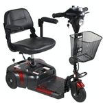 Drive Medical Phoenix 3 Wheel Compact Portable Travel Power Scooter