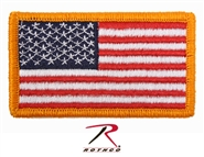 American Flag Patch w/ Velcro Back