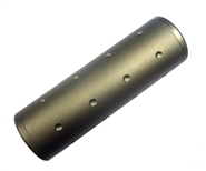 "4"" Lightweight Airsoft Barrel Extension - 14mm CCW and CW Threads"