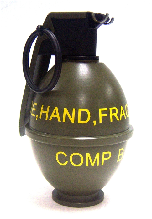 m26 hand grenade portable co2green gas filler full