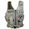 Fidragon Tactical Vest w/ Cross Draw Pistol Holster - Med to XL Size - ACU Digital