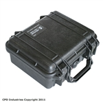 Pelican 1200 Case with Solid Foam