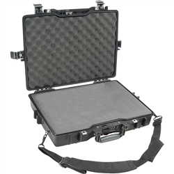 Pelican 1495 case with Pick N Pluck Polyurethane foam & Convoluted Lid