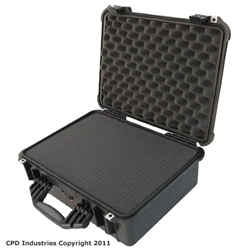 Pelican 1520 case with Pick & Pluck Polyurethane foam & Convoluted Lid