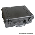 Pelican 1600 Case with Solid Foam