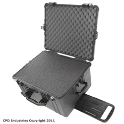 Pelican Case 1620 with Pre-Scored closed cell Polyethylene Foam
