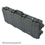 Pelican 1700 Gun Case with Solid Foam