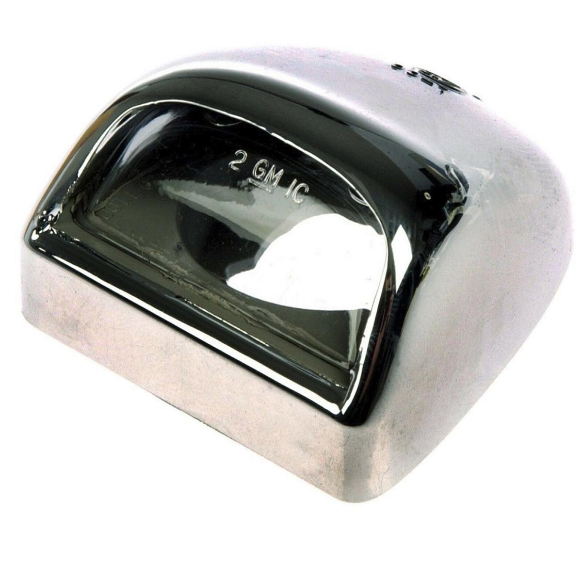 OEM NEW License Plate Light Lamp Lens 99-05 Silverado Sierra 15049281