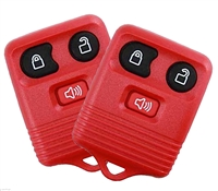 Best Replacement Keyless Entry Remote 3 Button Key Fob for Select Ford Cars and Trucks 2 Pack RED