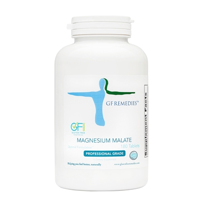 gluten free remedies magnesium malate product bottle