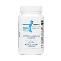 gluten free remedies multivitamins and minerals product bottle
