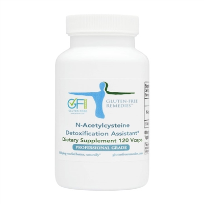 gluten free remedies n-acetylcysteine product bottle