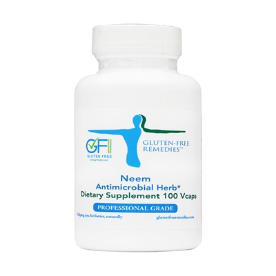 gluten free remedies neem product bottle