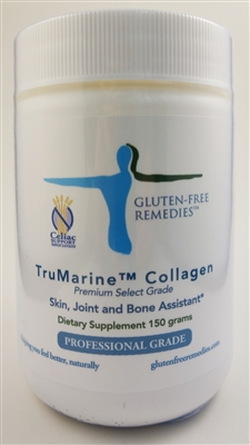 gluten free remedies trumarine collagen bottle