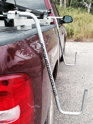 The Rider Standup Paddleboard & Surfboard Rack for Trucks
