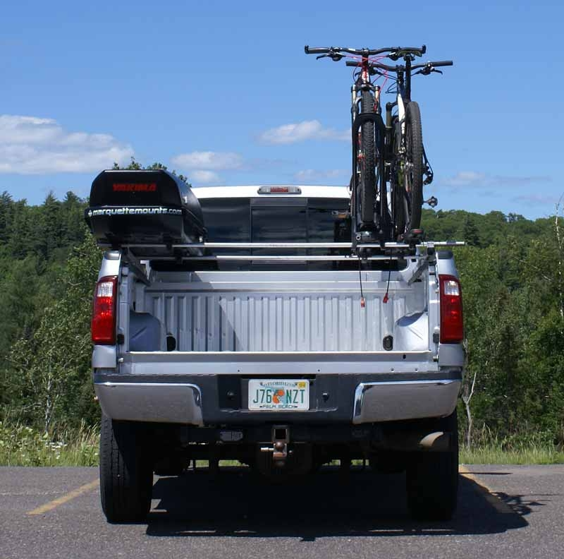 the double side truck rack system patented base rack for trucks by
