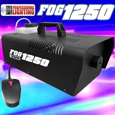 1250 Watt Fog Machine - W/Remote