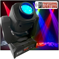 Mini Moving Head Spot 60 Watt LED Built-In Gobos