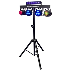 Party Bar X5 - LED DJ Lighting - Stage Lighting