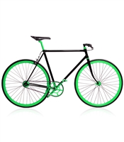 Zike Neon Green Bike