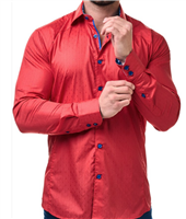 Flavour Red Shirt