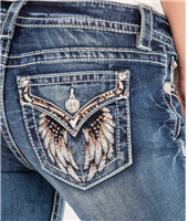 Spread Your Wing Jeans