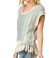 Fringe Factor Sweater Top