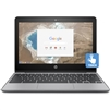 "HP 11-v020wm 11.6"" Chromebook, Touchscreen, 4GB RAM, 16GB eMMC Drive"