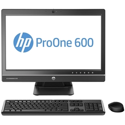 "Hp All in One ProOne 600G1 22"" LCD 2TB HDD 8GB RAM WiFi WebCam Core I5 Desktop Computer Windows 10 Professional"