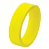 "Flipper Rubber 1 1/2"" x 1/2"" YELLOW"