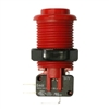 Happ Pushbutton W / Horizontal Micro-Switch - Red